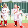 Lady Eagles vs. Krum on Tuesday, April at Argyle High School in Argyle, Texas. (Caleb Miles / The Talon News)