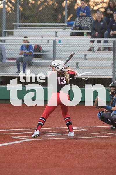 Lady Eagles softball takes on Nolan Catholic at Argyle High School in Argyle, Texas on 3/25/19. (Georgia Penn/ The Talon News)