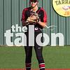 The Lady Eagles softball team compete against Springtown  at Argyle High School in Argyle, Texas, on March 19, 2019. (Jacob Lormand / The Talon News)