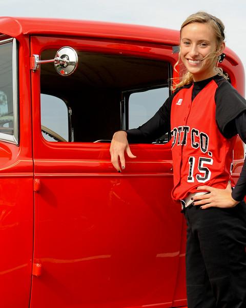 Scott County High School Softball senior night 2010