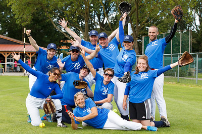 KNBSB Mid Summer Slowpitch Event DVH Amstelveen (29-07-2017)