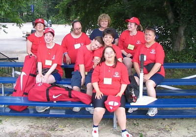 This is our State Games competitors for 2005.  We had a great competition and beautiful weather!