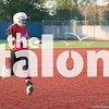 Lady Eagles softball takes on the Godley Wildcats at Brewer High School on April 26, 2019. (The Talon News/ Jaclyn Harris)