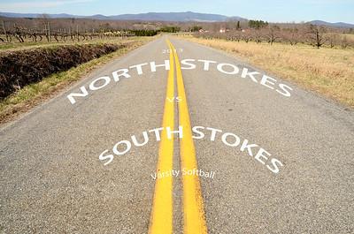 South Stokes vs North Stokes Spring softball 2013