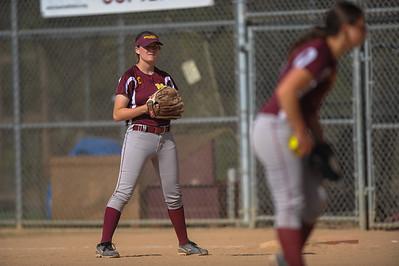 Menlo-Atherton High School Varsity Softball vs. Terra Nova High School, May 5, 2015