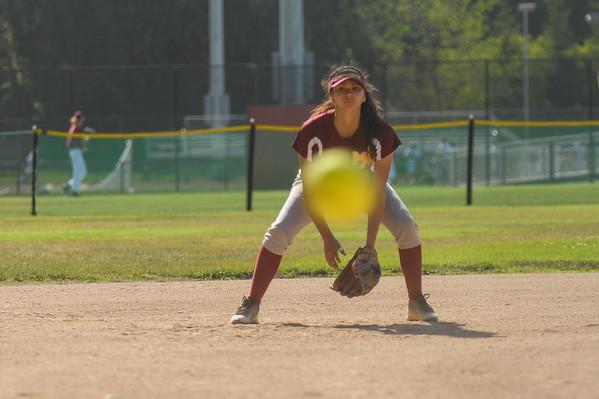Terra Nova Varsity Girl's Softball vs. Menlo-Atherton 2015-05-05