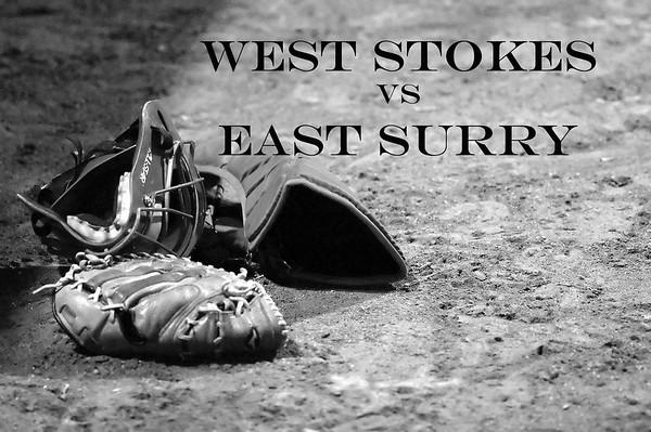 West Stokes vs East Surry, JV & Varsity, March 2010
