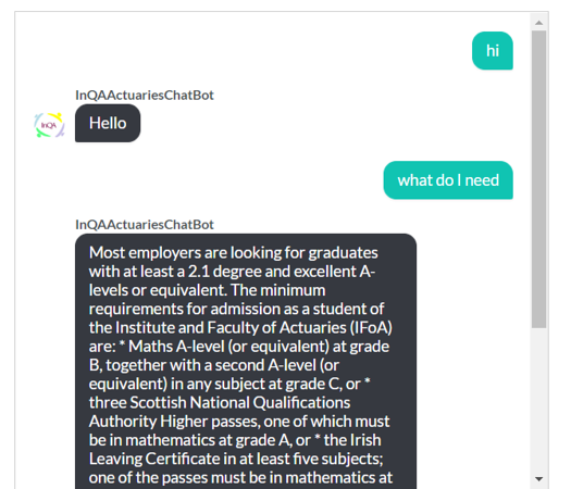 Example ChatBot (2)