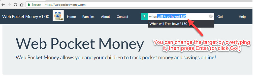 InQA's WebPocketMoney uses #AI to let the user give intelligent commands to it