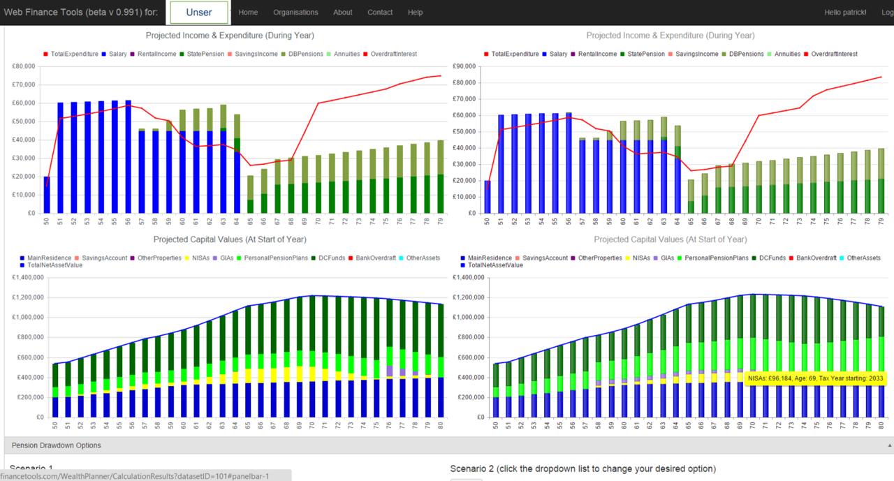 Wealth Planner Screenshot 5