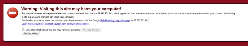 Blagh, Malware!