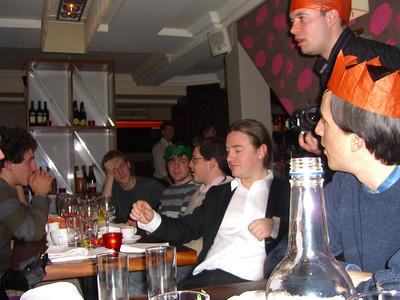 Softwire Xmas Dinner 2008