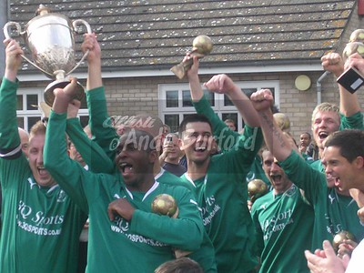 Ridgeons League Champions 07/08