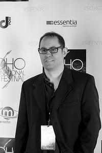 IMG_8309 David Stott SoHo Int'l Film Festival B&W