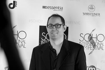 IMG_8311 David Stott SoHo Int'l Film Festival B&W