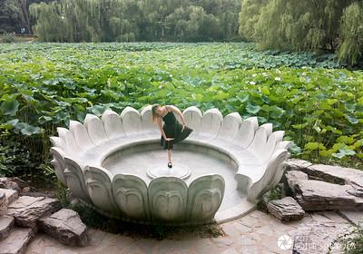 Beijing 1 Augusti - Zizhuyuan Gongyuan 紫竹院公园