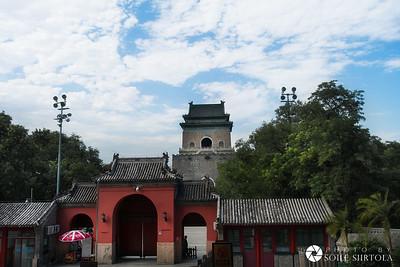Beijing 4 Augusti - Gulou and Zhonglou