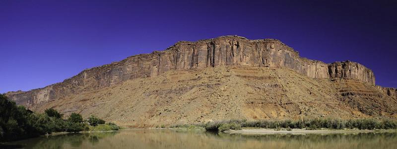 Colorado River east of Moab