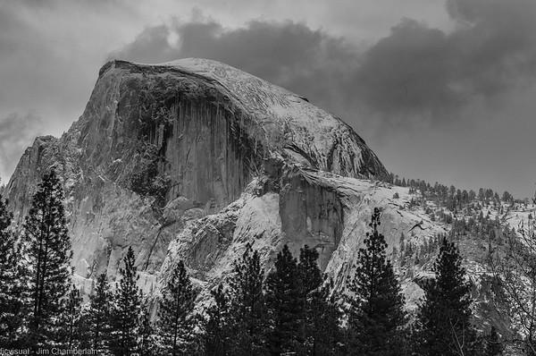 Yosemite Black and White