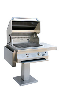Solaire 30 inch Infrared Natural Gas Bolt Down Post Grill