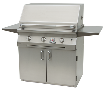 "36"" Solaire Infrared Grill on Standard Cart, SOL-IRBQ-36CIR"