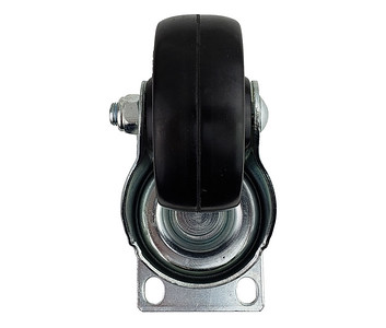 ITEM SOL-6073R Caster, swivel without brake for all cart and pedestal models