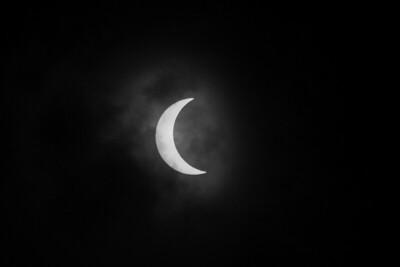 Solar Eclipse 2017 in BW