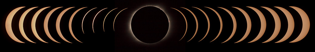 Total Solar Eclipse (August 21, 2017) from Sumter, SC