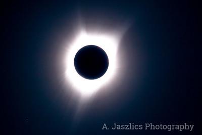 Eclipsed Sun