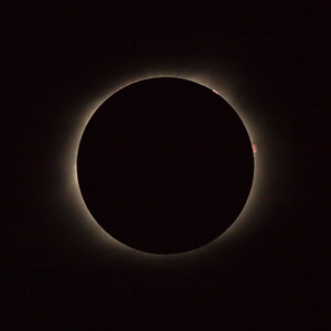 Total Eclipse from Shaw Air Force Base (August 21, 2017)