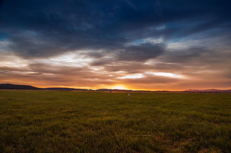 Sunset in Seneca