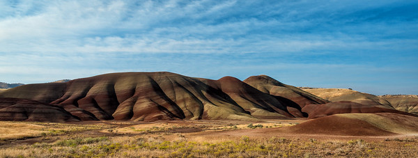 Morning Light on the Painted Hills