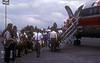 Changing planes in Guadalajara for La Paz
