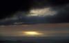 Shelf of heavy cloud moves in