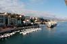 Savona waterfront as we depart