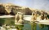 Remains of Roman bridge