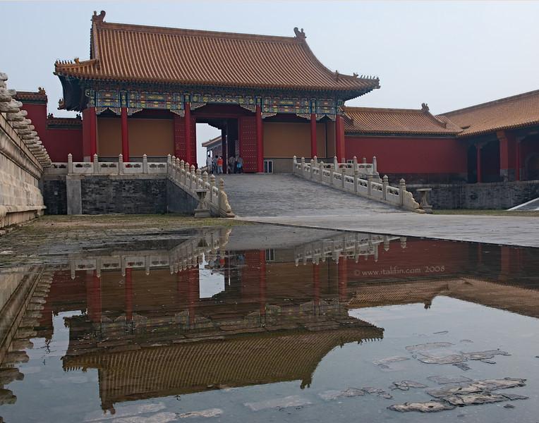 Forbidden City reflection