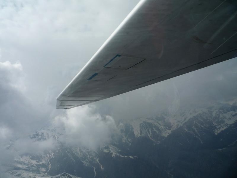 Spiraling down 7000 feet