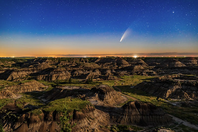 Comet NEOWISE over Horseshoe Canyon (July 11, 2020)