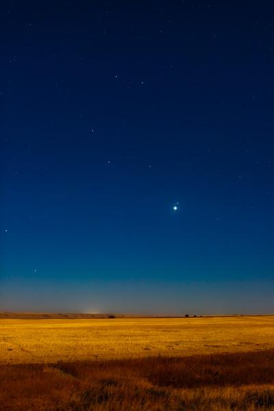 Venus and Regulus Conjunction (Oct 3, 2020)