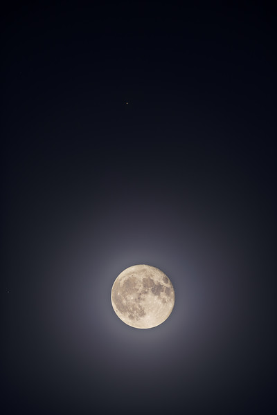Moon and Mars in Conjunction (Oct 2, 2020)