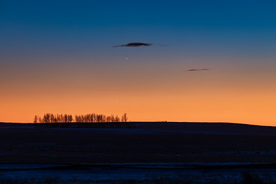 Planet Trio in Twilight (January 10, 2021)