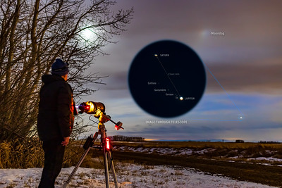 Shooting the Great Conjunction with Close-Up View (Dec 19, 2020)