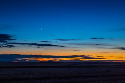 Moon, Mercury & Venus (May 13, 2021)