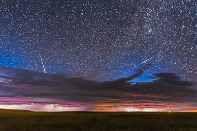 Lightning, Iridium and Meteor, Oh My!