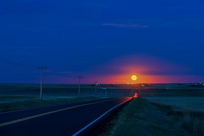 The Rising Moon at Equinox