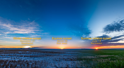 The Shifting Sunset Through the Seasons (2020 with Labels)