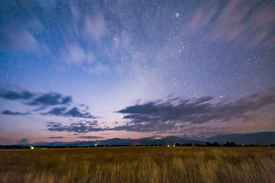 Zodiacal Light over the Tetons at Dawn