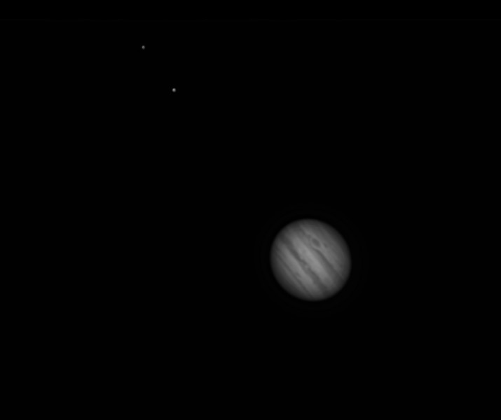 Jupiter in an ED80