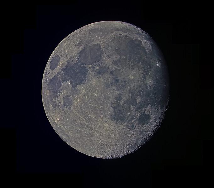 An RGB Moon